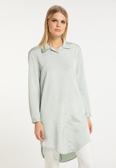 RISA Bluse in mint, Modelansicht