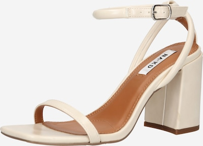 NA-KD Strap sandal in Beige, Item view