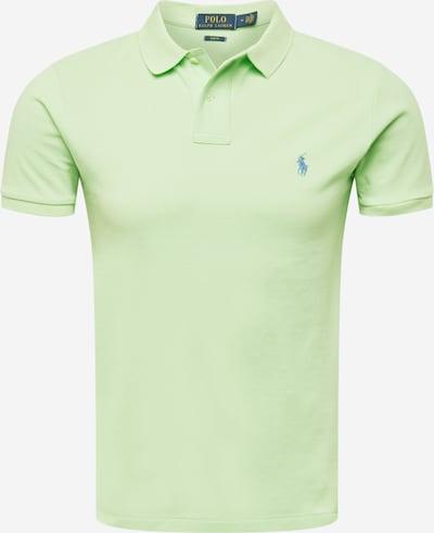 POLO RALPH LAUREN T-Shirt en bleu fumé / menthe, Vue avec produit