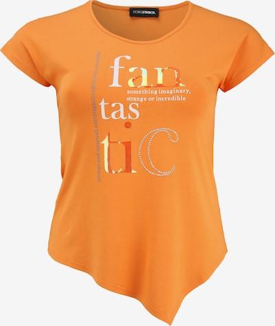 Doris Streich Shirt mit asymmetrischem Saum in orange, Produktansicht