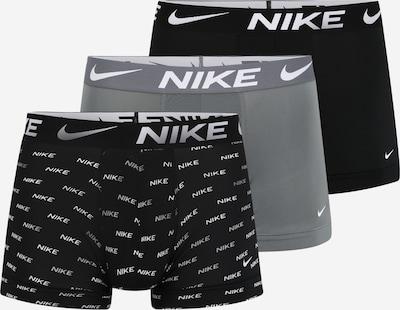 szürke / fekete / fehér NIKE Sport alsónadrágok, Termék nézet