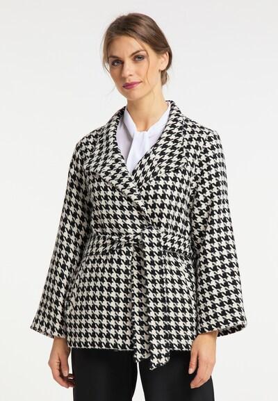 fekete / fehér usha BLACK LABEL Átmeneti kabátok, Modell nézet