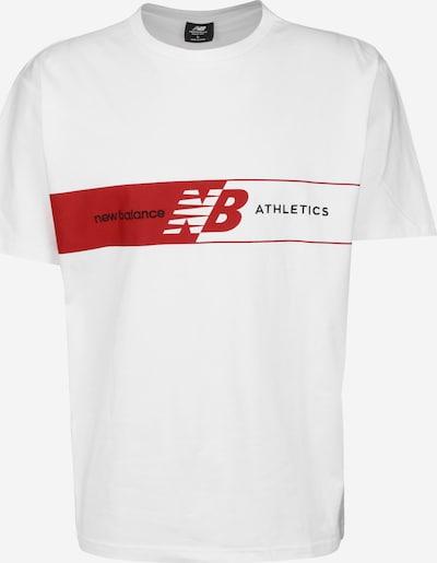 new balance T-Shirt in weiß, Produktansicht