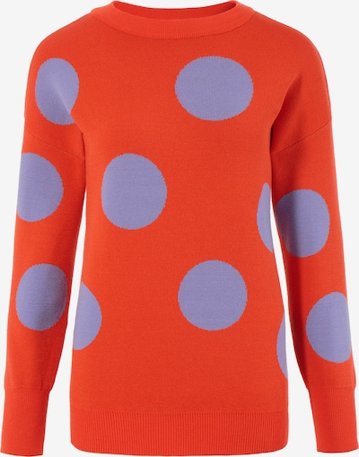 Aniston SELECTED Pullover in helllila / orange, Produktansicht