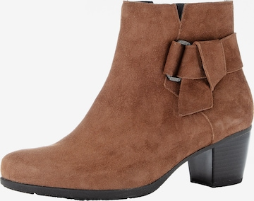 GABOR Ankle Boots in Braun