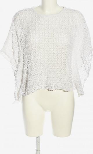 ONLY Strickshirt in S in weiß, Produktansicht