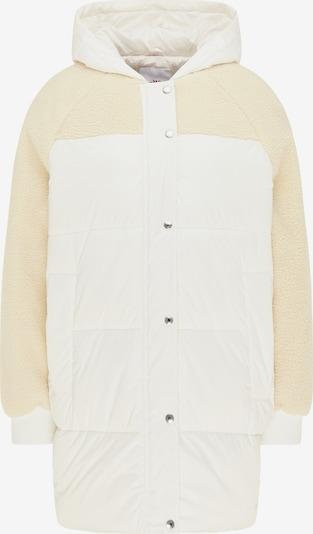 Palton de iarnă MYMO pe crem / alb, Vizualizare produs
