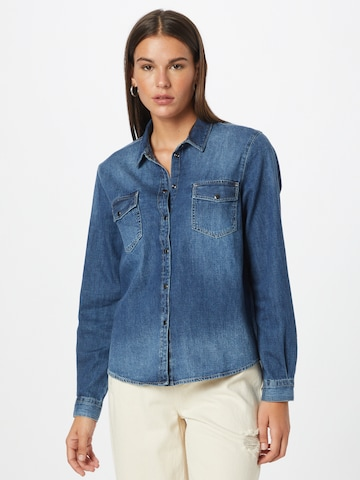 JDY Blouse 'SOLIMA' in Blue