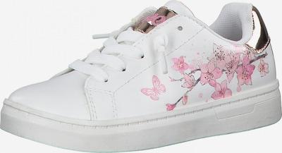 s.Oliver Sneaker in rosegold / pink / rosa / weiß, Produktansicht