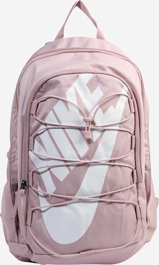 Nike Sportswear Nahrbtnik | sliva / bela barva, Prikaz izdelka