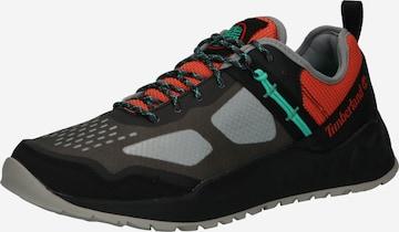 pelēks TIMBERLAND Sporta apavi ar šņorēm 'Solar Wave TR Low - Greenstride'