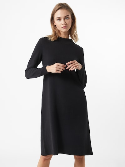 Megzta suknelė iš ESPRIT , spalva - juoda, Modelio vaizdas