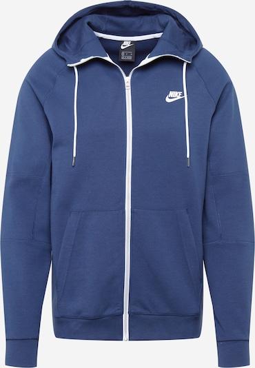 Nike Sportswear Sweatvest 'Modern' in de kleur Navy / Wit, Productweergave