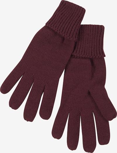 J. Jayz Fingerhandschuhe in weinrot, Produktansicht