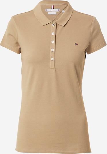 TOMMY HILFIGER T-shirt en camel, Vue avec produit
