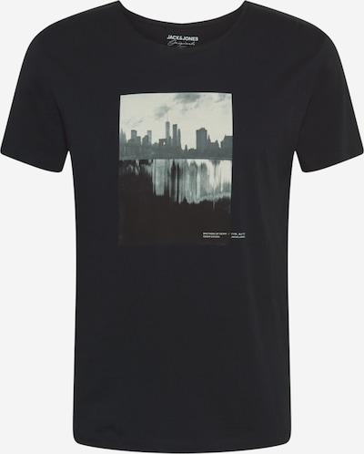 Marškinėliai 'Nobody' iš JACK & JONES , spalva - pilka / juoda, Prekių apžvalga