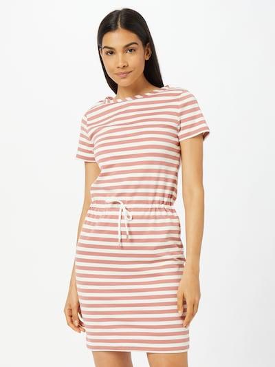 VILA Kleid 'TINNY' in altrosa / weiß, Modelansicht