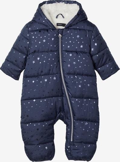 NAME IT Schneeanzug in dunkelblau / silber, Produktansicht
