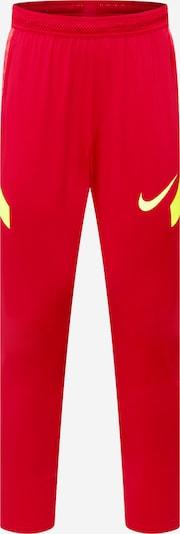 NIKE Sporthose in gelb / rot, Produktansicht