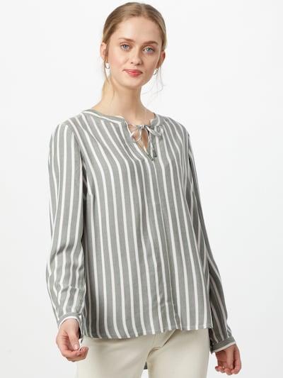 CECIL Halenka - khaki / fialová / bílá, Model/ka