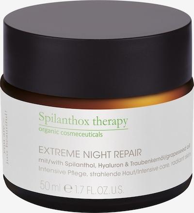 Spilanthox Creme 'Extreme Night Repair' in weiß, Produktansicht
