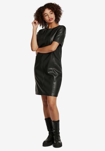 Cartoon Kleid in schwarz, Modelansicht