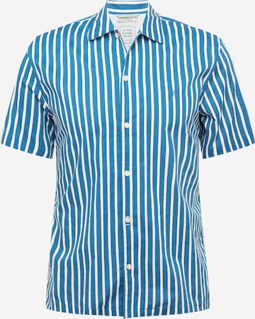 Marc O'Polo Button Up Shirt in Blue