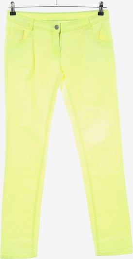 G!na Slim Jeans in 29 in pastellgelb, Produktansicht