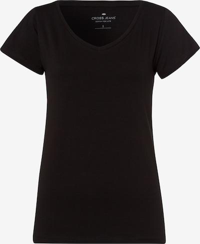 Cross Jeans T-Shirt in schwarz, Produktansicht