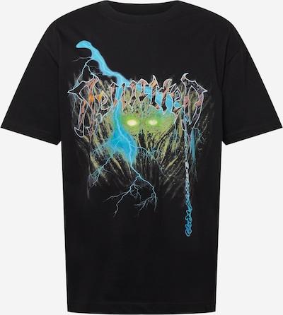 WEEKDAY Shirt in de kleur Gemengde kleuren / Zwart, Productweergave