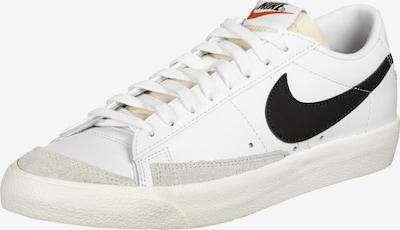 Nike Sportswear Baskets basses en gris clair / noir / blanc, Vue avec produit