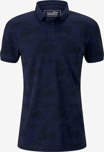 TOM TAILOR DENIM T-Shirt en bleu marine / noir: Vue de face