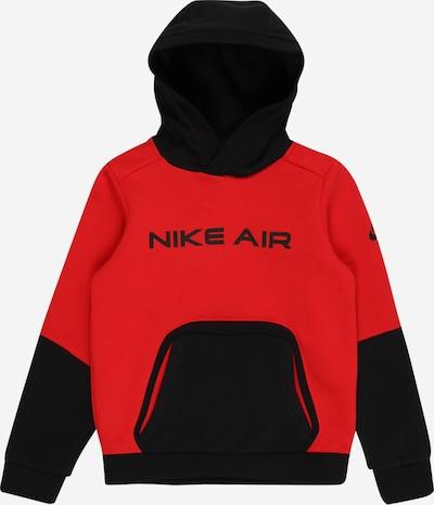 Nike Sportswear Sweatshirt in rot / schwarz, Produktansicht