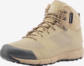 Haglöfs Boots 'L.I.M Mid Proof Eco' in Beige