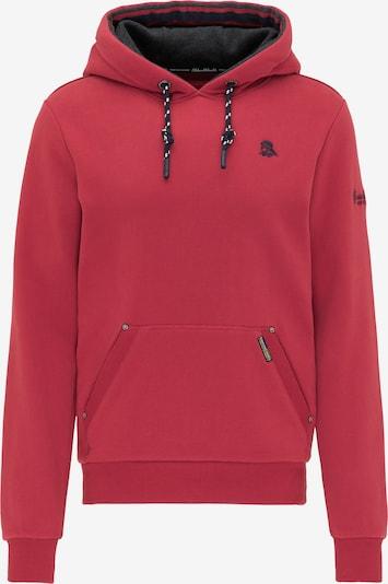 Schmuddelwedda Sweat-shirt en rouge, Vue avec produit