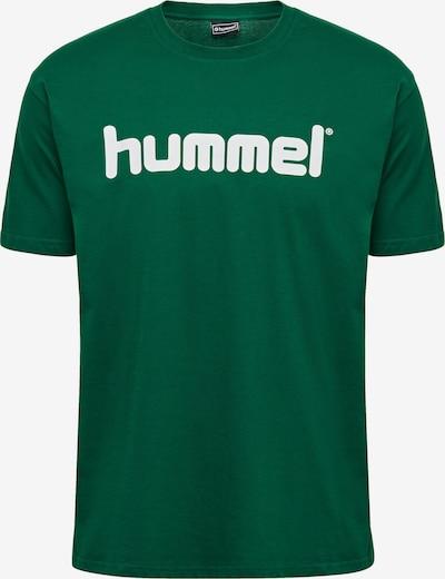 Hummel Trainingsshirt in grün / weiß, Produktansicht