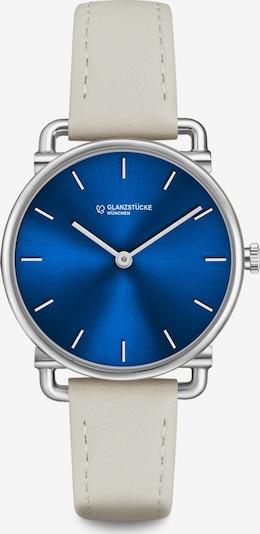Glanzstücke München Analog-Armbanduhr in blau / silber, Produktansicht