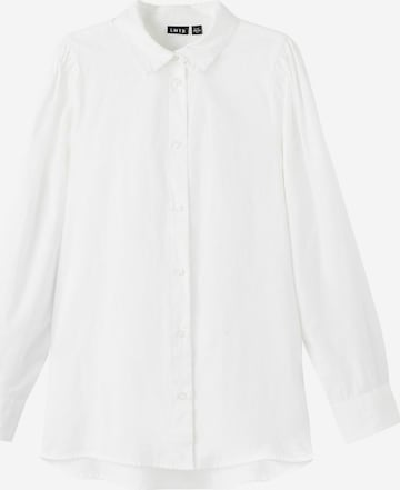 NAME IT Blouse in White