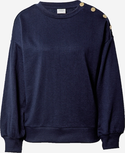 JACQUELINE de YONG Sweatshirt 'LOUISIANA' in dunkelblau / gold, Produktansicht