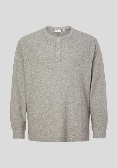 s.Oliver Shirt in de kleur Grijs gemêleerd, Productweergave