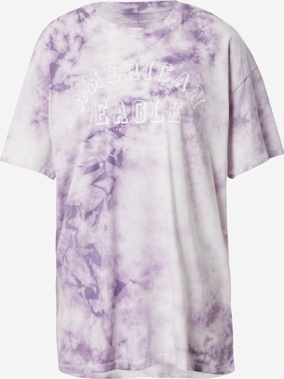 American Eagle Shirt in Purple / White, Item view