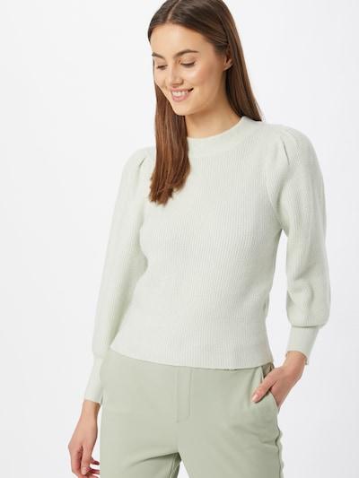 Gina Tricot Sweter 'Alva' w kolorze lazurm: Widok z przodu