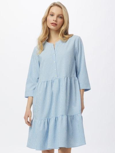 HUGO Kleid 'Klevia' in blau / weiß, Modelansicht