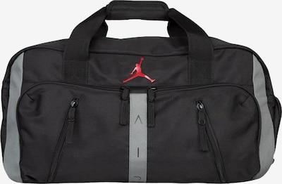 Jordan Sporttasche in grau / rot / schwarz, Produktansicht