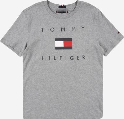 TOMMY HILFIGER Paita värissä tummansininen / harmaa / tulenpunainen / valkoinen, Tuotenäkymä