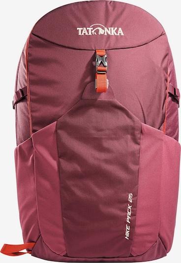 TATONKA Rucksack 'Hike Pack 25 ' in orange / bordeaux / weiß, Produktansicht