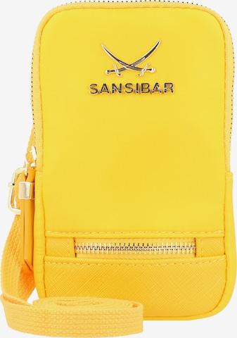 SANSIBAR Handytasche in Gelb