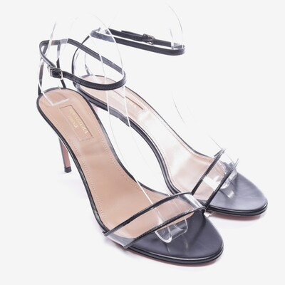 Aquazzura Sandaletten in 40 in schwarz, Produktansicht