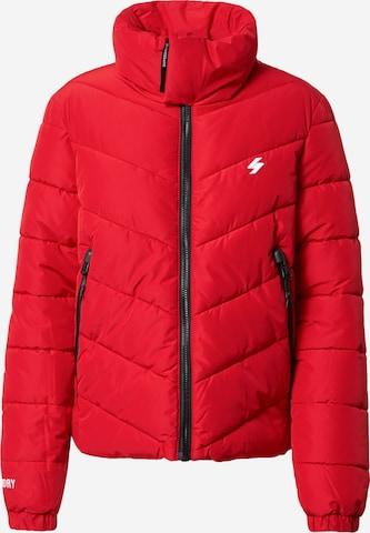 Superdry Overgangsjakke i rød