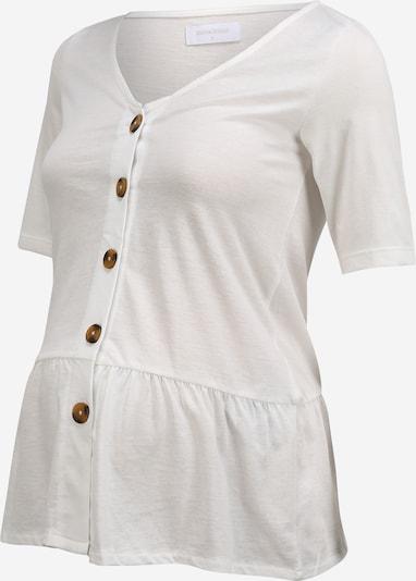 MAMALICIOUS Shirt 'LIA' in weiß, Produktansicht